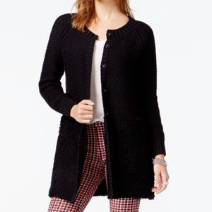 Sanctuary Garden City Sweater Coat Black XS